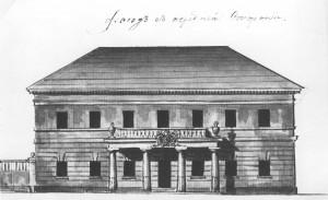 Здание Киевской конторы Госбанка до начала 20 века