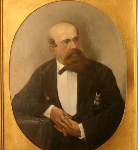 Основатель знаменитого Петербургского Путиловского завода Н.И. Путилов  (1820-1880)